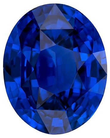 Quality Plus  Blue Sapphire Gemstone, 3.98 carats, Oval Cut, 10.39 x 8.2 x 5.43 mm, A Selected Gem with GIA Cert
