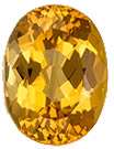 Fine Loose 4.02 carats Topaz Loose Gemstone in Oval Cut, Sherry Peach, 11 x 8.2 mm