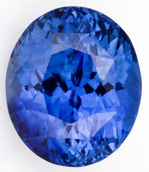 Loose Blue Sapphire Gemstone, Oval Cut, 4.16 carats, 9.55 x 8.12 x 6.55 mm , AGL Certified - A Low Price