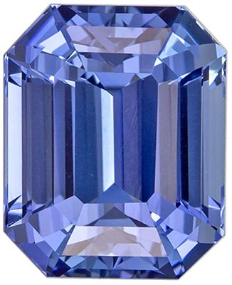 Super Fine 4.25 carats Blue Sapphire Emerald Genuine Gemstone, 9.2 x 7.5 mm