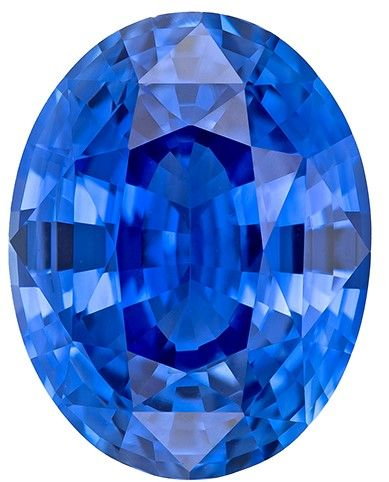 Genuine Blue Sapphire Gemstone, 4.5 carats, Oval Cut, 10.68 x 8.3 x 5.87 mm, A Beauty of a Gem with GIA Cert