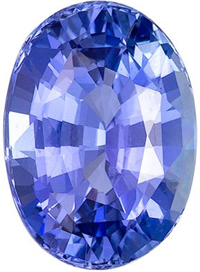 Must See 4.54 carats Blue Sapphire Oval Genuine Gemstone, 11.2 x 8.1 mm