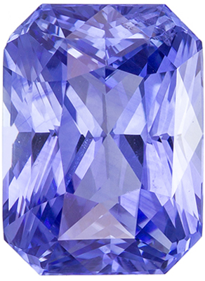 Glamourous 5.06 carats Blue Sapphire Radiant Genuine Gemstone, 10.7 x 7.9 mm