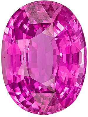 Very Rare GIA Pink NO Heat 5.09 carats Pink Sapphire Oval Genuine Gemstone, 11.9 x 8.88 x 5.69 mm