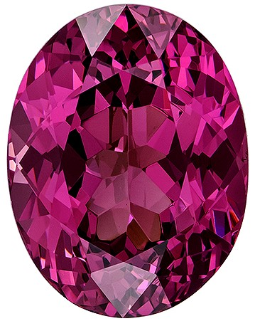 Loose Natural Rose Garnet Genuine Gem, 5.12 carats, Oval Cut, 11.5 x 8.9  mm , High Quality Gemstone