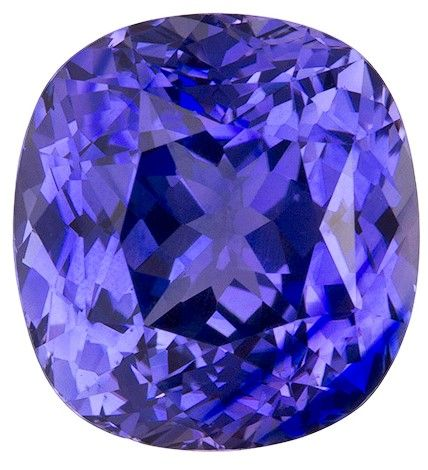 Stunning Purple Sapphire Gemstone, Cushion Cut, 5.28 carats, 9.99 x 9.28 x 6.65 mm , GIA Certified - A Low Price