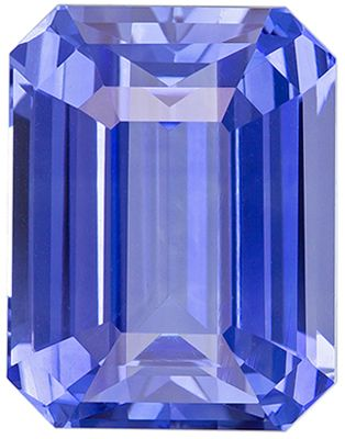 Fine Quality 6.02 carats Blue Sapphire Emerald Genuine Gemstone, 10.9 x 8.5 mm