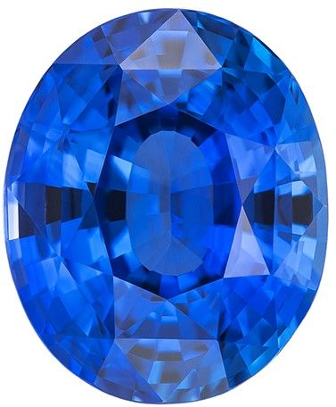 Loose Fine Blue Sapphire Gemstone, 6.04 carats, Oval Cut, 11.35 x 9.33 x 6.67 mm, Must See This Gem with GIA Cert