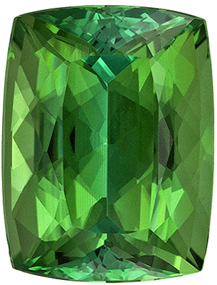 Wonderful Rare Cushion Cut Blue Green Tourmaline Gemstone, 12.1 x 9.2 mm, Minty Blue Green Color, 6.06 carats