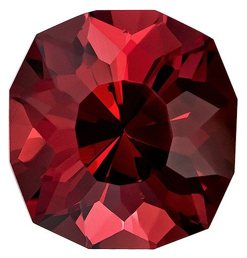 Loose Rhodolite Garnet Gemstone, 6.06 carats, Cushion Cut, 10.6 x 10.1 mm, A Highly Selected Gem