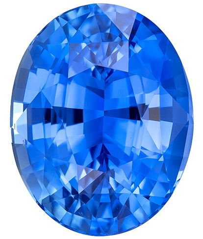 Heirloom Blue Sapphire Gemstone, 6.48 carats, Oval Cut, 11.98 x 9.49 x 6.88 mm, A Gorgeous Gem with GIA Cert