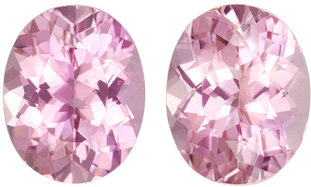 7.06 carats Pink Tourmaline Loose Gemstone Oval Cut,, 11 x 8.8 mm