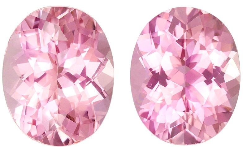 7.06 carats Pink Tourmaline Loose Gemstone in Oval Cut,, 11 x 8.8 mm