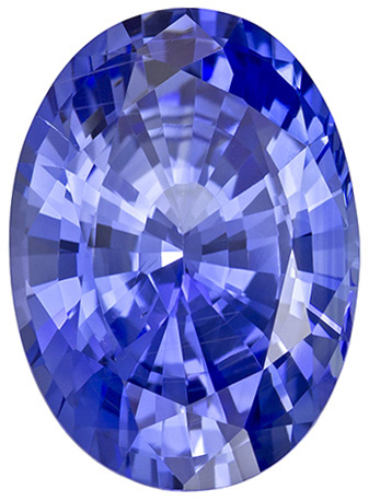 7.22 Carat No Heat Blue Cornflower Color Sapphire GIA Gemstone in Oval Cut, 13.9 x 10.1 mm, 7.22 carats - GIA Certified
