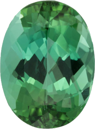 7.63 carats Blue Green Color Paraiba Tourmaline Loose Gem in Oval Cut, 14.0 x 10.3 mm