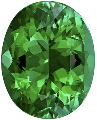 Gorgeous Oval Shape Blue Green Tourmaline Gemstone, 8.84 carats, Rich Minty Blue Green, 15.3 x 12.3 mm