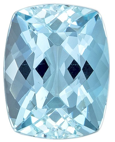 Truly Stunning Cushion Cut Natural Aquamarine Gemstone, 2.16 carats, 9.3 x 7.2 mm , Super Lovely Gem