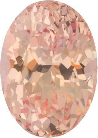 AGTA Certified 13.8 x 9.8 mm Padparadscha Sapphire Gemstone in Oval Cut, 8.56 carat