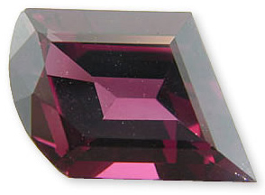 Alluring Loose Raspberry Rhodolite Garnet Gemstone, Fancy Cut, 8.13 carats