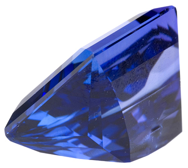 Amazing Cut Unique Tanzanite Gemstone 13.81 carats, Perfect for A Special Custom Piece