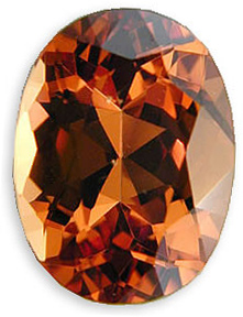 Amazing Hot Orangey Red Malaia Garnet Gemstone for SALE, Oval Cut, 3.57 carats