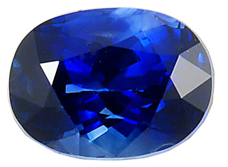 Amazing Price!  Real Gem Quality Natural Oval Ceylon Blue Sapphire 3.36 carats at AfricaGems