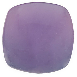 Antique Square Shape Cabohon Lavender Chalcedony Loose Fine Gemstone  9.00 mm in Size