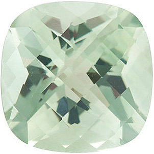 Antique Square Shape Checkerboard Green Quartz Genuine Quality Loose Faceted Gem Grade AAA, 10.00 mm in Size