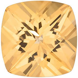 Loose Genuine Gem Antique Square Shape Honey Passion Topaz Gemstone Grade AAA, 6.00 mm in Size