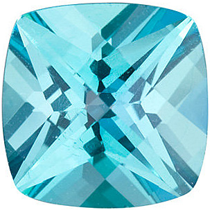 Antique Square Shape Teal Passion Topaz Natural Quality Loose Cut Gemstone Grade AAA  6.00 mm in Size