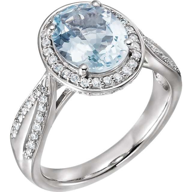 Wonderful Halo-Style Ring