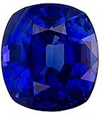Authentic Blue Sapphire Gemstone, Cushion Cut, 1.99 carats, 7.08 x 6.46 x 4.88 mm , GRS Certified - Truly Stunning