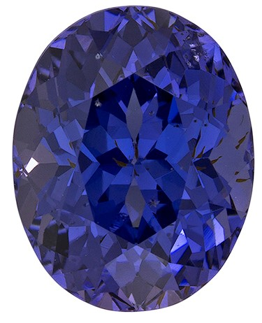 Authentic Blue Spinel Gemstone, Oval Cut, 5.18 carats, 11.1 x 8.8 mm , AfricaGems Certified - A Beautiful Gem
