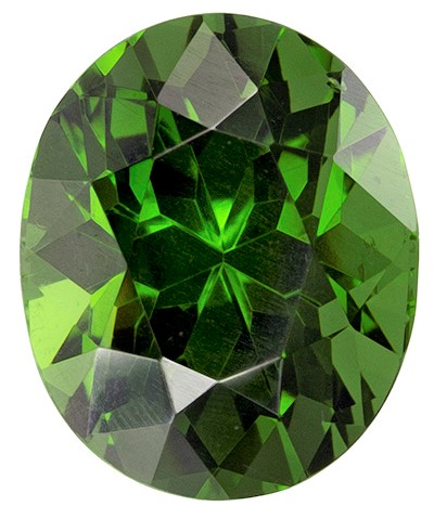 Authentic Green Zircon Gemstone, Oval Cut, 3.7 carats, 9.7 x 7.9 mm , AfricaGems Certified - A Great Deal