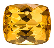 Authentic Precious Topaz Gemstone, Cushion Cut, 4.94 carats, 10.5 x 9 mm , AfricaGems Certified - A Low Price
