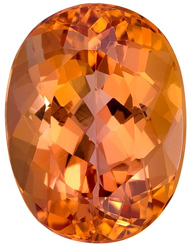 Authentic Precious Topaz Gemstone, Oval Cut, 3.61 carats, 10.1 x 7.7 mm , AfricaGems Certified - A Deal