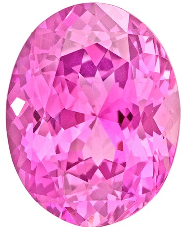 Authentic Pink Sapphire Gemstone, Oval Cut, 3.9 carats, 10.83 x 8.44 x 5.59 mm , GIA Certified - A Beauty of A Gem