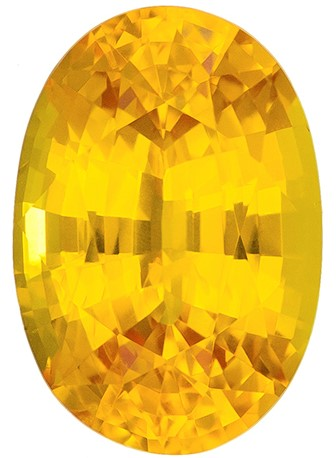 Authentic Yellow Sapphire Gemstone, Oval Cut, 2.11 carats, 9.0 x 6.2 mm , AfricaGems Certified - Truly Stunning