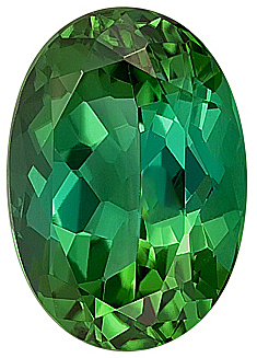 Awesome Rare Bright Green Tourmaline Natural Gemstone,  Best Price.,  Oval Cut, 13.1 x 9.2 mm, 5.58 carats