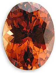 Awesome Strong Orange Red Natural Malaia Garnet Gemstone, Oval Cut, 4.72 carats