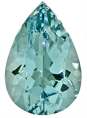 Beautiful Blue Paraiba Tourmaline for SALE, Pear Shape, 2.44 carats with AGL Cert.