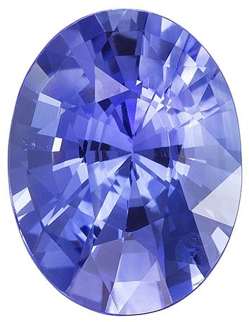 Beautiful Blue Sapphire Gemstone, 1.52 carats, Oval Shape, 8.07 x 6.16 x 4.32 mm with GIA No Heat