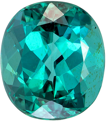 Bright Blue Tourmaline Loose Gem, Oval Cut, Stunning Blue Color in 2.50 carats , 8.6 x 7.6 mm