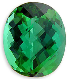 Beautiful Checkerboard USA Cut Blue Green Tourmaline Gemstone 15.44 carats