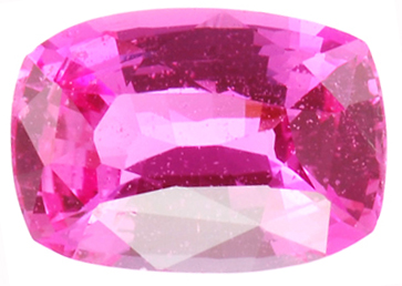 Beautiful Color, Hot Pink Sapphire Gemstone 3.03 carats - Low Priced Gem