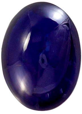 Beautiful Gem Blue Sapphire Cabochon Cut, 1.66 carats, 8 x 6 mm