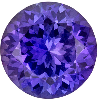 Beautiful No Heat Purple Sapphire Genuine Gem in Round Cut, Violet Purple Color Change, 6.08 x 6.11 x 3.8 mm, 1.06 carats