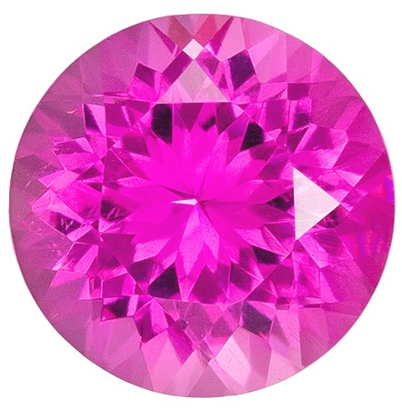 Beautiful  Pink Tourmaline Gemstone, 1.76 carats, Round Shape, 8 mm, A Beauty of A Gem