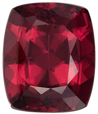Beautiful Rhodolite Gemstone in Oval Cut, 6.4 carats, Rich Raspberry, 12.3 x 10.1 mm