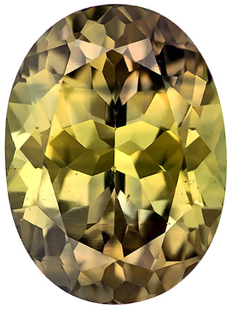Beautiful Rich Warm Brown Sapphire in Oval Cut, Unusual Color in 9.4 x 7 mm, 2.82 carats